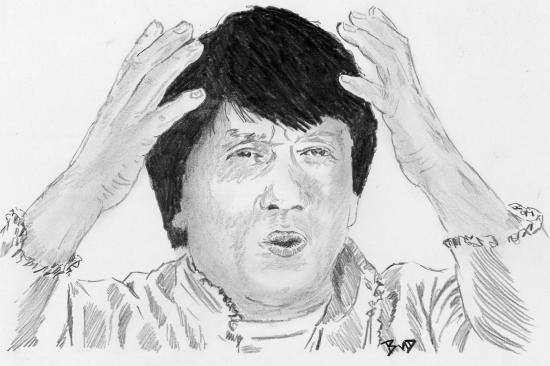 Jackie Chan by bigbudmeg